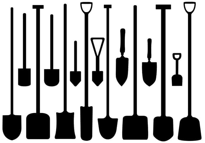 Types Of Garden Shovels